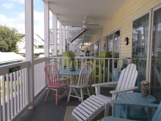 Beautiful Newly Listed 2 Bed Condo! 200 Steps From The Beach! Truly Amazing!
