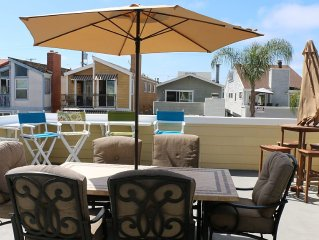 Cool Beach Rental ~Beach, Sun, Vacation Fun~ Patio ~View ~ Parking for 2 Cars