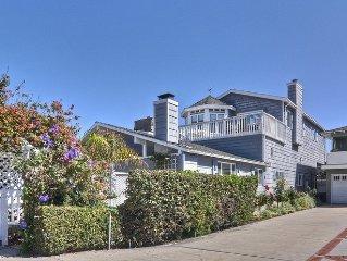 2BR / 2BA Very Cute Balboa Beach House, 2 Houses to the Sand