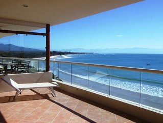 Punta Mita Condo Right on the Beach! Great Surfing, Safe Place