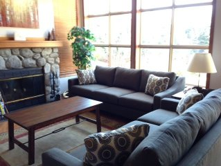 Bright Spacious 2 BR 2BA Corner Townhouse in Blackcomb Benchlands!