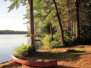 Private Lakefront Cottage on Highland Lake