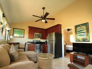 Newly renovated one bedroom home perfect for a North shore getaway.