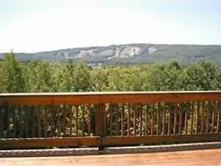 Bluff Home Above Trout Creek Resort with Spectacular View