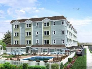 Simply The Best In The Crest! New Condo Steps To The Beach With Ocean Views