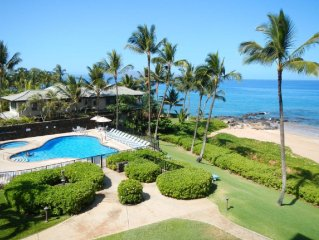 Wailea, Oceanfront, Luxury, Polo Beach Club Condo #403