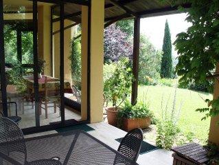 Roman Countryside with Garden/Pool Overlooking Lake Bracciano/Sea, WIFI, Sat TV
