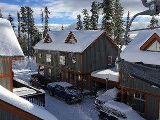 Four Level Post and Beam Townhome,  Ski In/Out, Central Village Loc, Sleeps 11