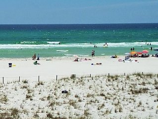 Dunes of Panama!  Free Beach Service!!  Gulf Front 2 Bedroom !!!!