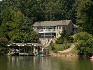 Smith Mountain Lake-The Thompson House - on the Water