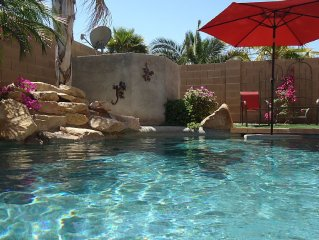 3 Bdrm Rancher with Private Heated Pool and Spa in Johnson Ranch