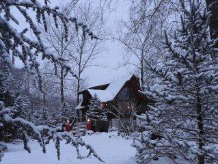 Appalachian Log Cabin on Tuckasegee River, Harrah's /Bryson City