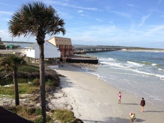 Oceanfront  Family Beach Rental Pet Friendly |BBQ Grill