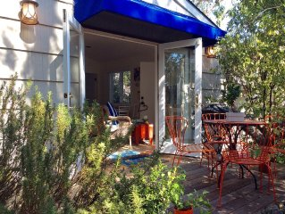 Charming, Cozy And Bright Cottage!10 Min Walk To Carmel Village And Beach