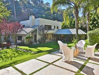 Exquisite Beverly Hills Modern Zen Oasis Near Rodeo Drive