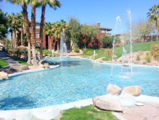 SUMMER DEAL!  June - Oct $980 mo WELL FURNISHED ELEC/INTERNET incld 2 pools