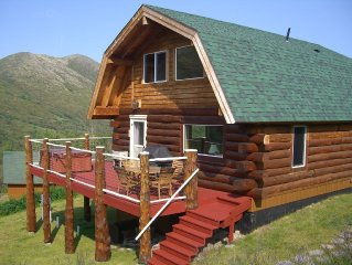 Mountain Lodge In Wilderness Setting, But Not Far From Anchorage
