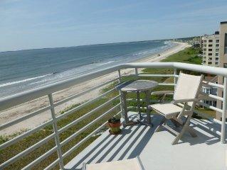 Spectacular 2+B Sunny, Beachfront Corner PH, Fireplace, Pool (May, June & winter