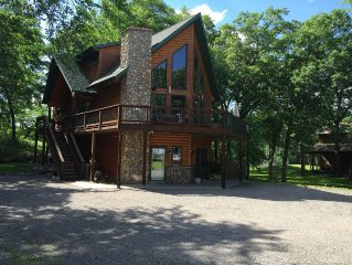 Central Minnesota's  Heart of the Lakes Clearwater Lake Cabin