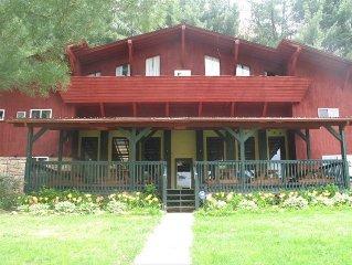 The Ponderosa Lodge Farm.  Huge 10,000 Sq. Ft.  Sleeps 32.