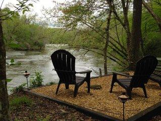 River Front 5 Acres - Hot Tub - Fishing - Kayaking- Wineries-Hiking-Art