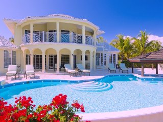 Large 4 Bedroom Villa on the Water - Leeward near