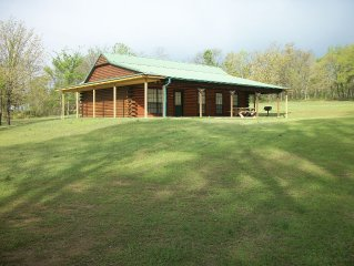 Pettit Mtn. Ranch Log Cabin on Gated 37 acres near Pettit Bay and Tenkiller Lake