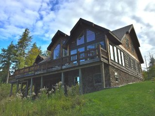 Adirondack View 8 Bedroom Lodge On Tupper Lake Waterfront