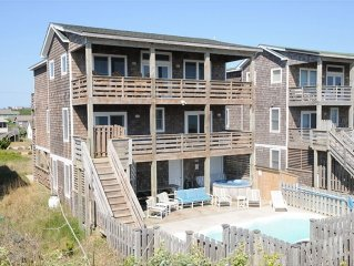Savings on Traditional Nags Head Oceanfront House Off Season