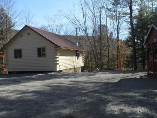 Secluded 200+ Acre Adirondack Getaway. Pets allowed.