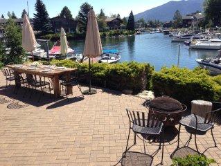 Tahoe Keys- On Water, Great Views, Hot Tub, Boat Dock, Close to Skiing