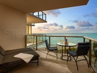 Most Luxury hotel 5 stars oceanfront w. balconies - Valet & Amenities included