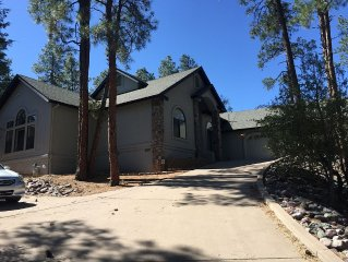 'The Elk House'!  Custom Home In The Pines!