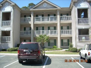 True Blue 3BR/2BA on 4th Hole! Top Floor, End Unit, Awesome View!