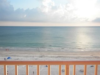 SPECIAL NOW - June 18-22 - Avail BOOK NOW!!!!!!Beachfront- MILL$$View