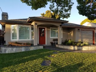Designed for Entertaining! Fully Remodeled 3 BR/2 BA Bungalow w/Fireplace!