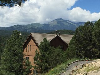 Beautiful Alto Cabin with Big Views of Sierra Blanca - Now with AC!
