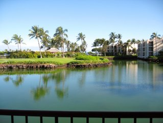 Luxury Condo at the New Mauna Lani Resort...Ocean Views, walk to hotel and beach