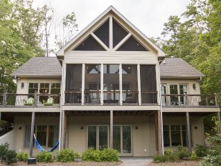 Lakefront Home On Lake Keowee With Views And Dock