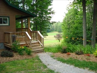 Golf Cabin GC - On Golf Course - WIFI - Directv - Cntl Air - Secluded - Fire Pit