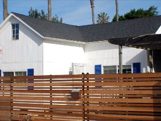 Dog Friendly Beach Cottage, Private Yard - 1 Block to the Water & Dog Beach