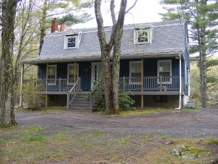 Relax and rewind. Quiet country home, private pond, spectacular views.