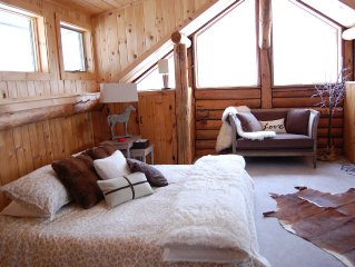 Picture Perfect Vermont Log Cabin - Close to Everything Manchester Offers