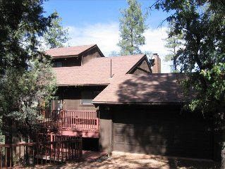 Breathtaking Views of Mogollon Rim  from Large Mountain Home