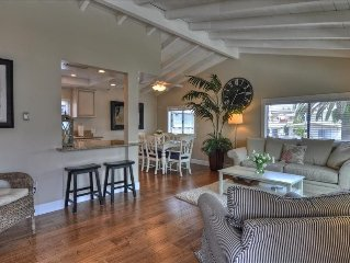 1 Block to Beach & CDM Village,  Air/C, Garage & BBQ