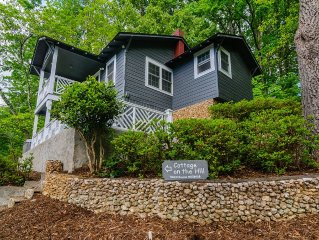 Lake Lure Cottage On The Hill 2 Bedroom, 1 Bath. Walk to Activities/Town