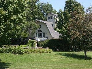 Beautiful 1800's Barn & River Rock Studio ($300-$1000 per night)