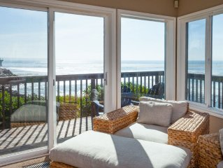 Spectacular!!! This House Is On The Bluff With An Unobstructed View The Ocean