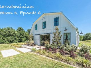 Fixer Upper's Original BARNDOMINIUM!! Host your Vacation, Private Event/Wedding