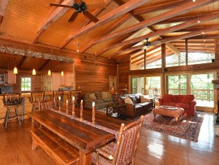 Lake Front, Conveniently Located And Beautifully Appointed All Wood Home